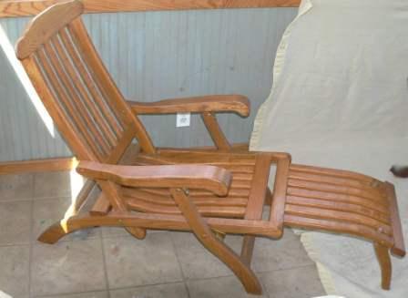 Charmant Steamer Deck Chair