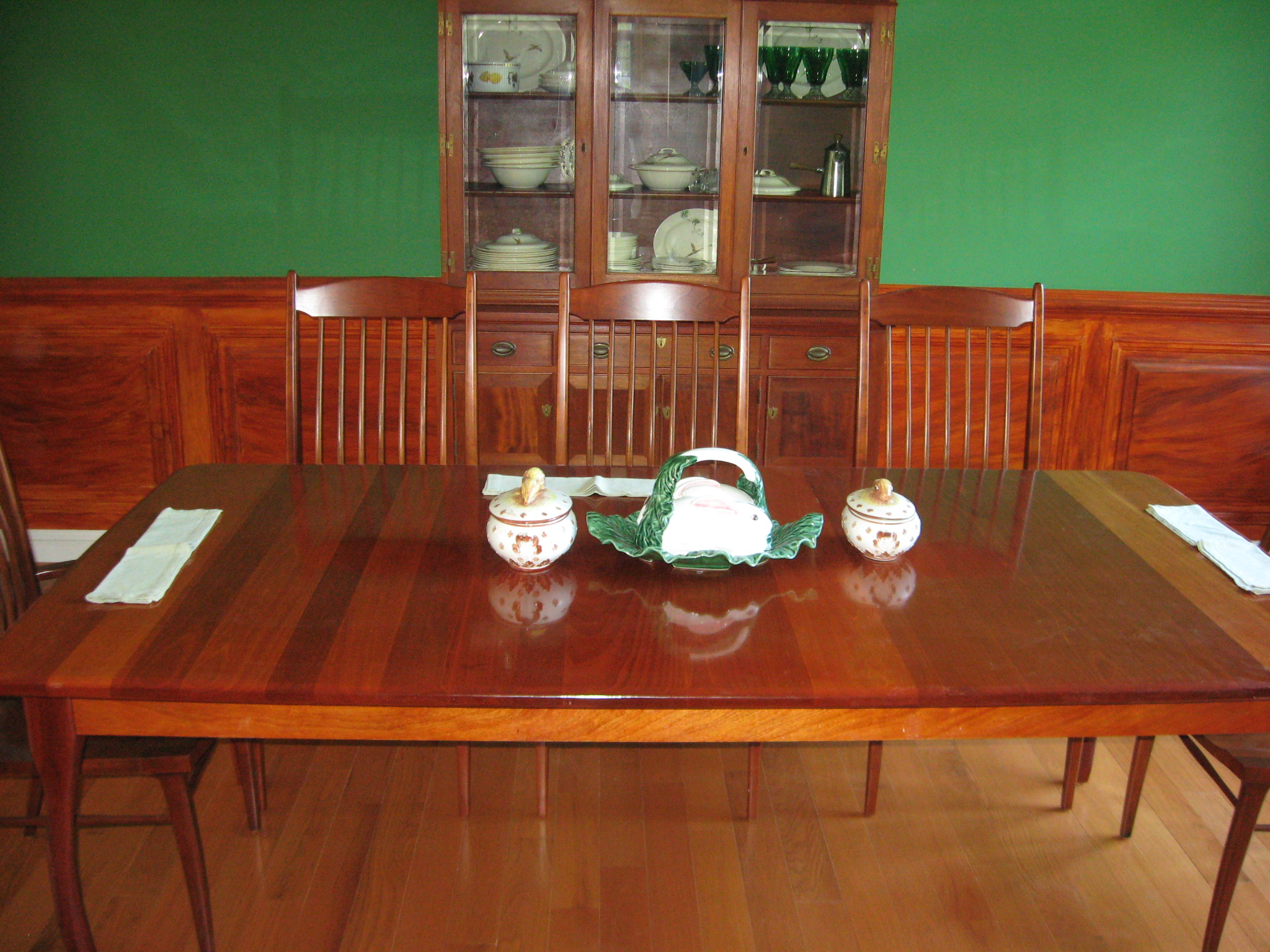 Mahogany Table Update Wilson Cunningham Custom Woodworking